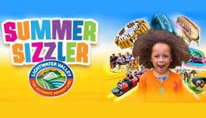 Lightwater Valley summer sizzler £15 tickets