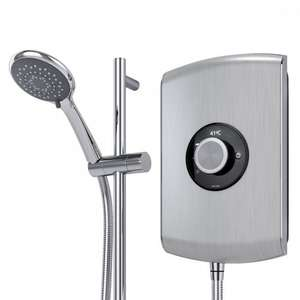 Triton Amore 8.5kw Electric Shower - Brushed Steel - B&Q Clearance - £130 (or £117 on Wednesdays with Diamond Card for over 60s)