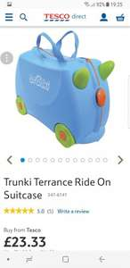 Trunki Terrance Ride On Suitcase  £23.33 @ Tesco Direct (Free C&C)