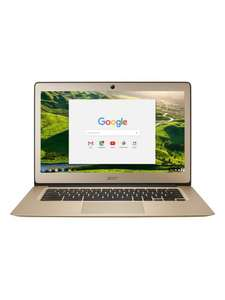 "Acer Chromebook 14 (CB3-431-C69V) 2GB RAM 32GB SSD 14"".  Refurbished with 12 month warranty from Littlewoods on Ebay. £139.94 delivered."