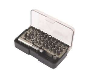 Titan Security Screwdriver bit set - 32 pieces @ Screwfix for £4.99