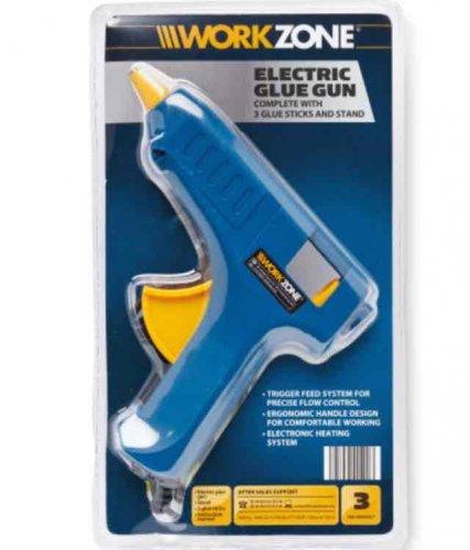 Workzone Electric Glue Gun  £3.99 @ Aldi