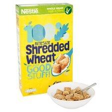 Nestle Shredded Wheat Bitesize 750g £2.00 @ Tesco
