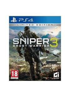 Playstation 4 Sniper: Ghost Warrior 3 - £24.99 @ Very