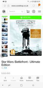 Star Wars: Battlefront - Ultimate Edition XBOX ONE £18.50 - Coolshop