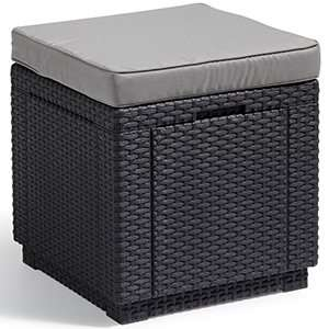 Allibert Graphite Cube Seat £26.99 @ Home Bargains