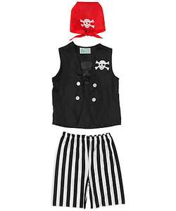 pirate costume from elc online - £1.50