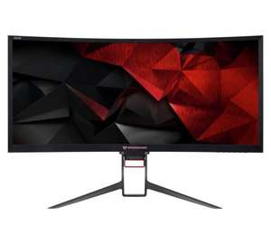 Acer Predator Z35p | 35 Inch Ultra Wide Curved Gaming Monitor £899.99 - Argos Online.
