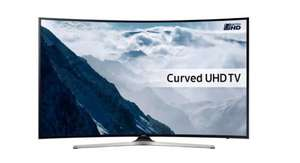 "Samsung KU6100 65"" 4K UHD Curved Smart TV £859.97 @ Ebuyer"