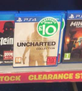 Uncharted collection PS4 £10 Instore at Smyths toystore Newport