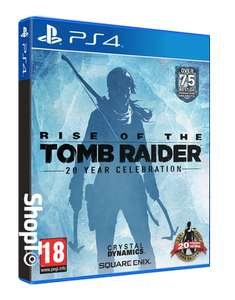 Rise of the Tomb Raider 20 Year Celebration PS4  £19.85  ShopTo
