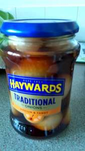 Haywards traditional pickled onions  69p @ poundstretchers