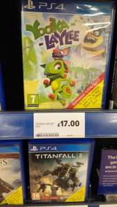 Yooka-laylee PS4 £17 @ Tesco in-store and online
