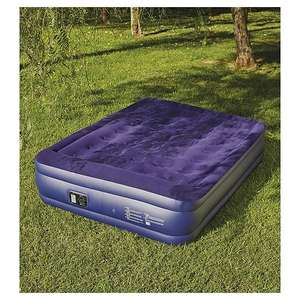 Tesco Raised Air Bed with Electric Pump (Double £26.50 and Single £23) @ Tesco - Instore and Online