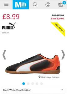 Puma Mens Indoor Football Boots £8.99 / £13.48 delivered @ MandMdirect