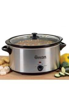 Swan SF11041 5.5-Litre Slow Cooker now £12.99 @ Very