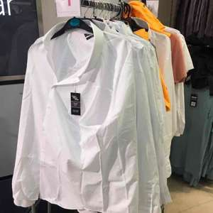 mens/boys white slim fit shirts (bk to school) £1.00 at primark Chester
