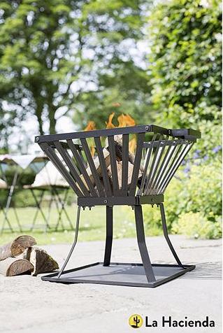 La Hacienda Steel Fire Basket £15 (Free C+C, otherwise £3 Del) @ Tesco Direct