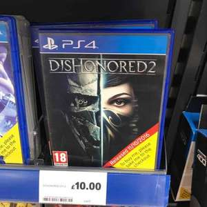 Dishonored 2 £10 - TESCO IN STORE