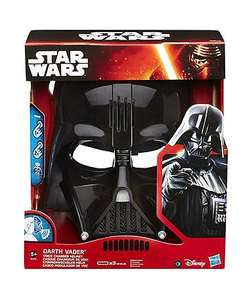 Star Wars episode 7 Darth Vader voice changer mask for £13.74 down from £54.99 @ ELC