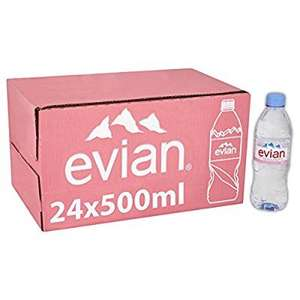 Evian 24 x 500ml was £8.49 now £5.94 @ Amazon pantry