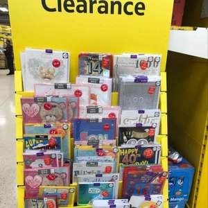 Various cards reduced @ Hodge Hill Tesco for as little as £1