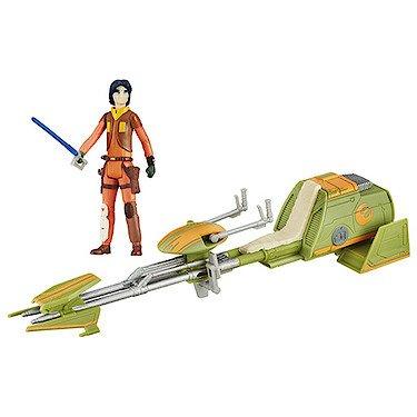 Star Wars Rebels Ezra Bridger's Speeder Vehicle with Ezra Figure (Was £23.99) Now £5 @ TheEntertainer