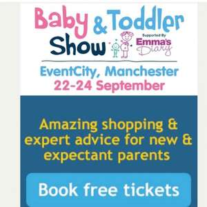 free tickets to Manchester baby show event