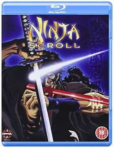 Ninja Scroll Bluray (Manga) £4.99 prime / £6.98 non prime @ Amazon