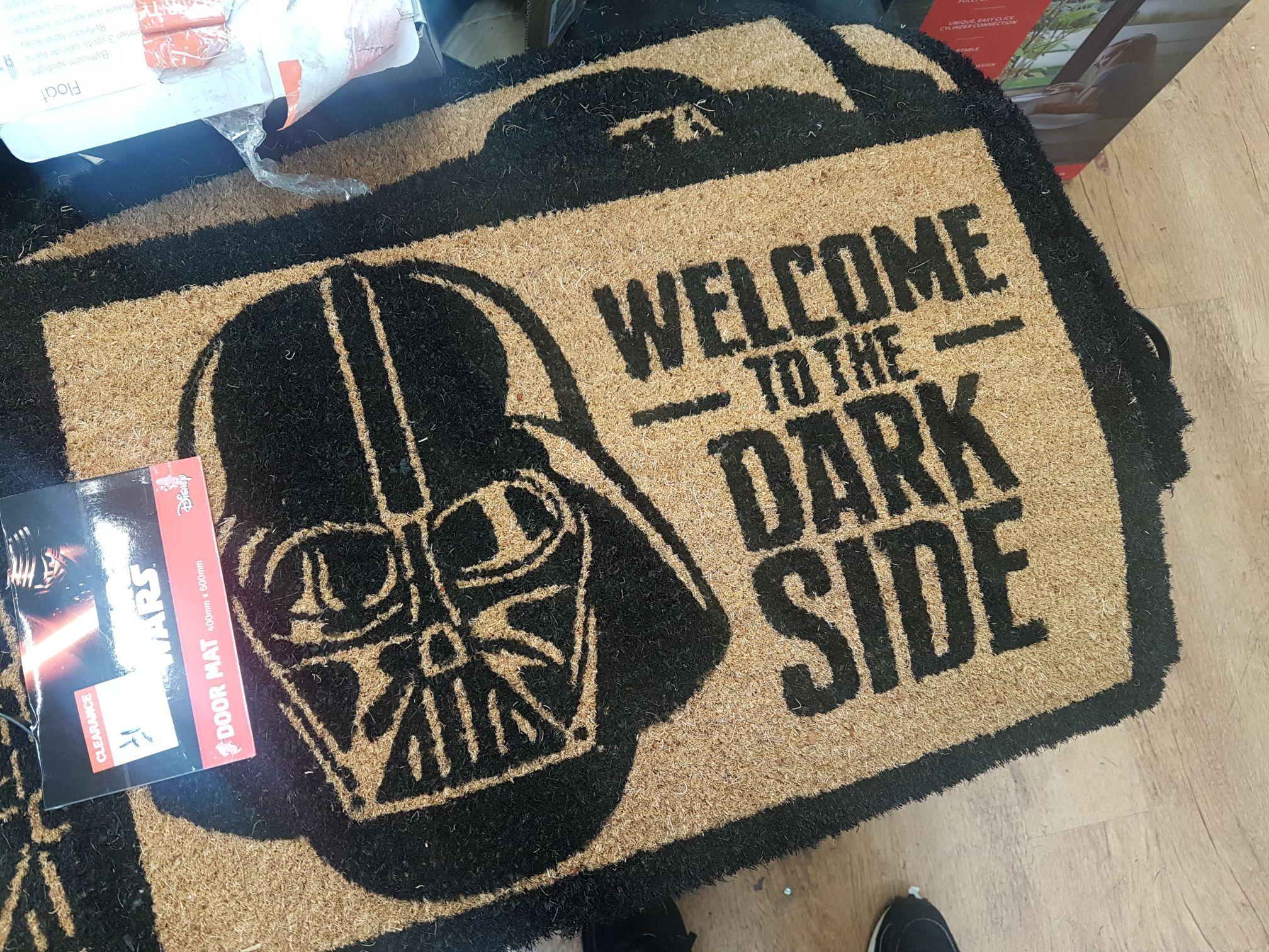 Star Wars Door mat @ B&Q Greenwich £1