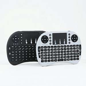 Mini Wireless Keyboard Remote with Touchpad Black /White £4.99 Delivered @ Lightinthebox