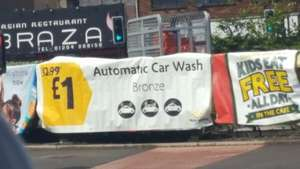 Less than half price carwash £1 @ Morrisons town centre Bolton