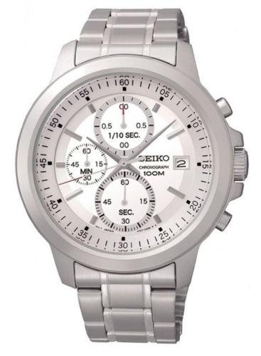 Seiko Men's Silver Dial Chrono Bracelet Watch £49.99 @ Ebay / rubicon-watchco