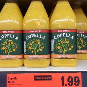 Copella 1.5L orange juice with bits £1.99 @ Lidl