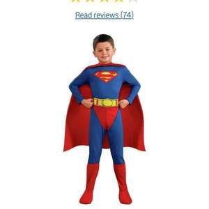 various kids fancy dress items from £5.99 in Argos clearance Star Wars Disney Peter Pan Toy Story Superman