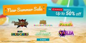 Nintendo eShop 3DS Summer Sale Up To 50% Off