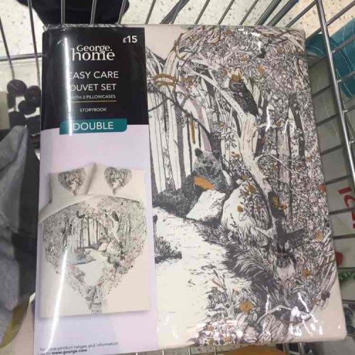 Duvet Covers 100 pecent Cotton £4.50 instore @ Asda Colne