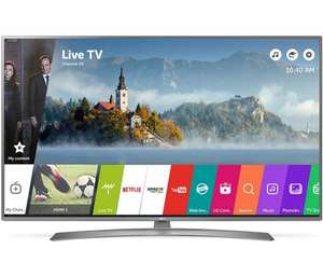 LG 43UJ670V LED HDR 4K Ultra HD Smart TV @ £499 from Richer Sounds