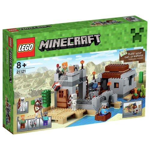 LEGO Minecraft The Desert Outpost Boxset - 21121 - From the Argos Shop on ebay £34.99