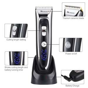 GHB SURKER Hair Clipper Rechargeable Hair Trimmer £29.99 Sold by gohappybuy and Fulfilled by Amazon.