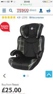 Cozy N Safe K2 High Back Booster Car Seat without Harness, Group 2-3, Free C&C £25 @ Tesco