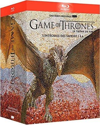 Game of Thrones (Seasons 1-6) [Blu-ray] €49.99 / £50.52 @ Amazon.fr