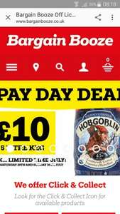 Hobgoblin 5l keg just £10 today until Sunday only! - Bargain Booze