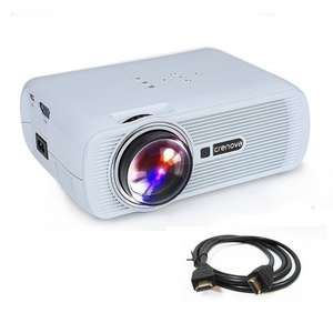 Video Projector, Crenova XPE460 1200 Lumens  £49.96 Sold by Crenova Official and Fulfilled by Amazon - lightning deal