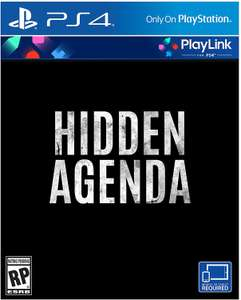 Hidden Agenda (PS4) £18.69 Delivered (Preorder) @ Amazon (US) / PSN (UK) £15.99 (Digital)