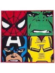 Marvel rug 80cm x 80cm was £14 then £10 now £7 /  Spiderman rug now £6 C+C @ Asda George (not many left be quick)