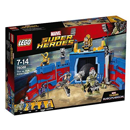 LEGO UK 76088 Marvel Superheroes Thor vs.Hulk [Arena Clash] £40.14 (RRP £54.99) Amazon