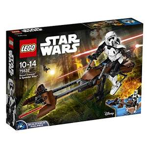 "LEGO UK 75532 Star Wars ""Scout Trooper and Speeder Bike"" £36.49 (RRP £49.99) Amazon"