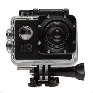 Top Tech HD Outdoor Action Cam (Black) - 1080p @ Euro Car Parts £15.99 delivered