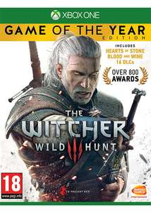 [Xbox One/PS4] The Witcher 3 Wild Hunt - Game of the Year Edition - £17.49 - Base
